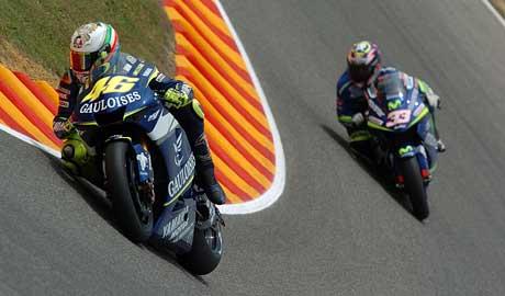 GP It�lie � Rossi nejlep�� v dom�c�m souboji