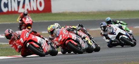 GP Katalánska – Rossi potvrdil svou dominanci