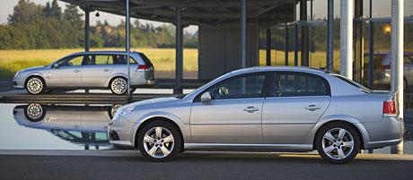 Opel Vectra a Signum s faceliftem: fotografie a informace