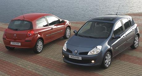 Nov� Renault Clio: v�bavy a ceny
