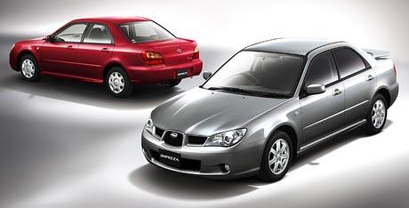 Subaru Impreza s novou vizáží na japonském trhu