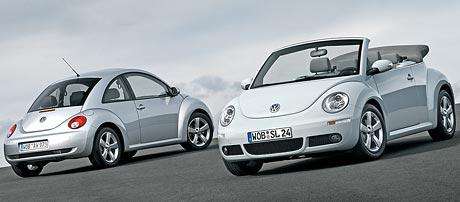 Faceliftovaný VW Beetle: upravený vzhled, stejné ceny