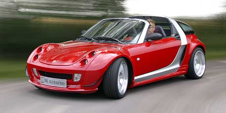 Labutí píseň Smartova Roadsteru-Coupé: Racing Edition