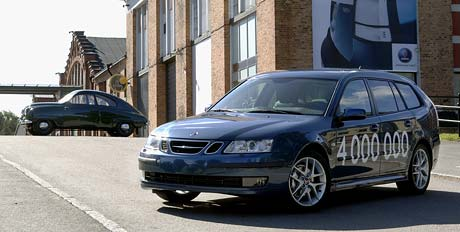 Saab vyrobil čtyři miliony aut