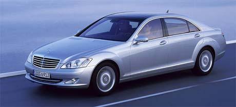 Mercedes t��dy S: �esk� ceny a v�bava