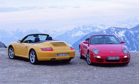 Porsche 911 Cabriolet s pohonem všech kol