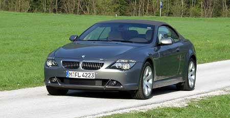Jízdní dojmy: BMW 645 Ci Coupé a Cabrio - Poslové ráje