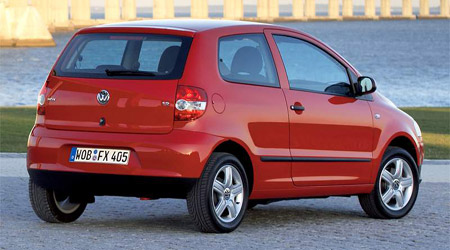 Volkswagen Fox obstál v crashtestu ADAC
