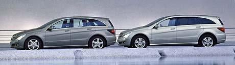 Mercedes-Benz R: tajenka o dvou rozvorech