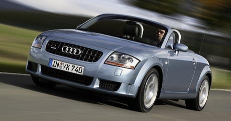 Audi TT: výkonnější motory 1.8 T (120 a 140 kW)