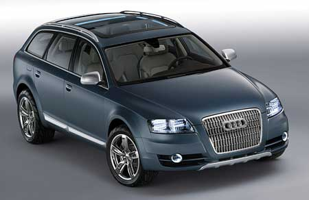 Audi pos�l� nov� Allroad quattro do v�roby
