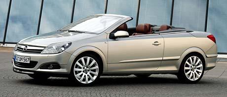 Opel Astra TwinTop: ceny začínají na 669.900,-Kč