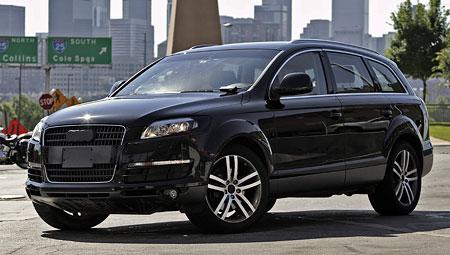 Audi Q7 připraveno k boji (nové foto)