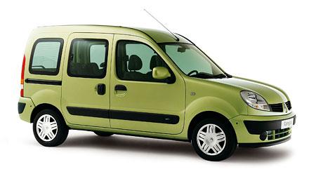 Renault Kangoo 2006: do devátého roku s faceliftem