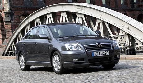 Toyota: nové diesely pro Avensis (110 a  130 kW)
