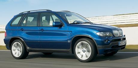 BMW X5: modrá Le Mans Blue nejen pro 4.8is