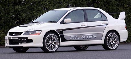 Mitsubishi Lancer Evolution MIEV: elektrizující Evo
