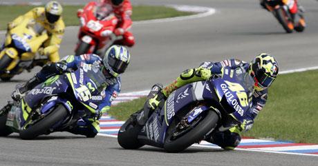 GP �esk� republiky � Rossi po dev�t� v�t�z�