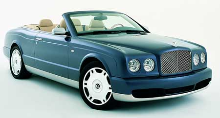 Bentley Azure se vrací