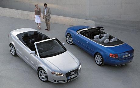 Audi A4 Cabriolet má novou tvář