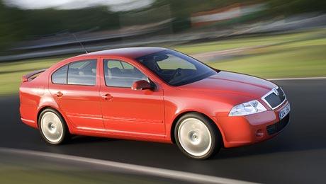Škoda Octavia RS: nové foto+překvapení