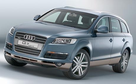 Frankfurt živě: Audi Q7 Hybrid (nyní studie, 2008 série)