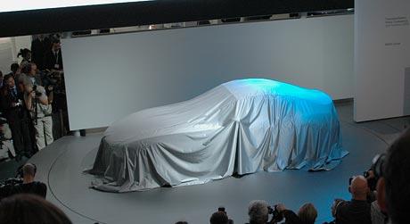 Frankfurt živě: BMW Z4 Coupé