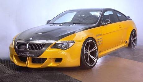 Frankfurt živě: Koncept BMW M6 od AC Schnitzer