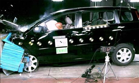 Euro NCAP: Mazda5 má hvězd pět