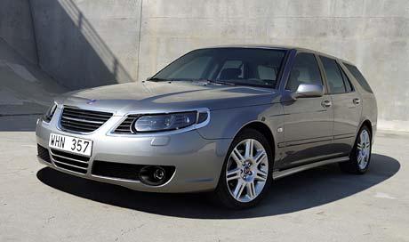 Frankfurt �iv�: P�epracovan� Saab 9-5
