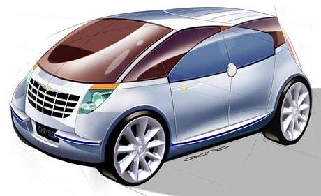 Chrysler Akino: japonské překvapení
