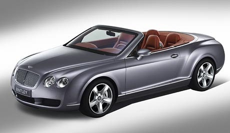 Dal�� kabriolet od Bentley: Continental GTC