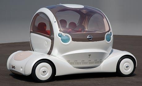 Nissan Pivo: krutihlav