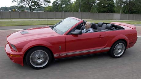 Mustang Shelby GT 500 Cabrio