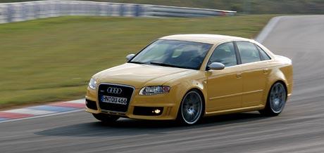 Audi RS 4 na českém trhu za 2.217.300,-Kč