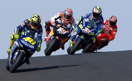 GP Austr�lie � Rossi jasn� v�t�z�