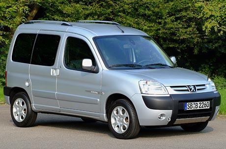 Peugeot Partner 2006: nové motory, nové detaily