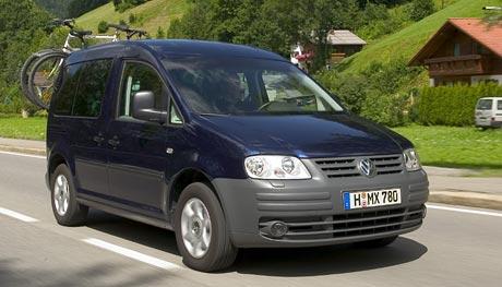 Volkswagen Caddy s DSG: radost z řazení v dodávce