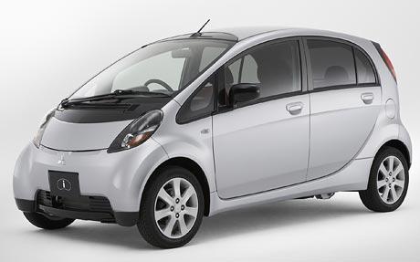 Mitsubishi I-koncept: mini s motorem vzadu