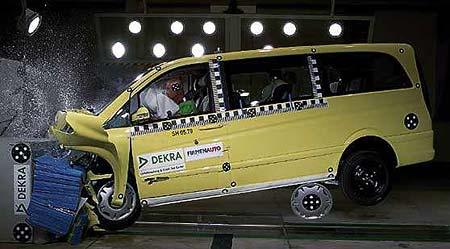 Mercedes-Benz Viano: bezpečí jako v osobním autě