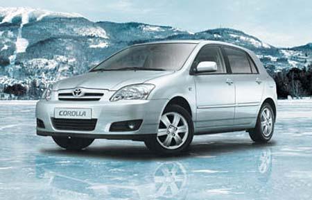 Toyota Corolla ICE a Corolla Verso IGLOO: ledové nabídky na podzim