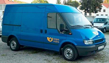 261 Fordů Transit pro Českou poštu
