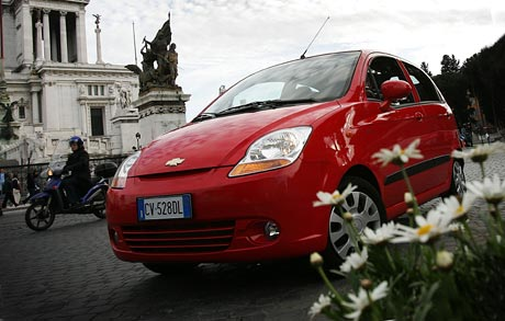 Chevrolet: Spark s dostupným automatem