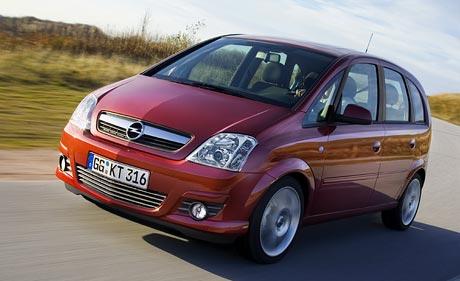 Mini facelift pro Opel Meriva