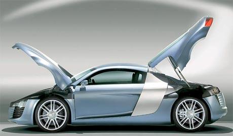 Supersport Audi R8 příjde na trh v roce 2007