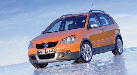 VW CrossPolo: vych�zkov� model pro Essen