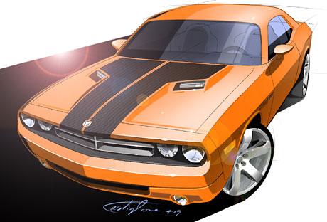 Dodge Challenger Concept: návrat legendy