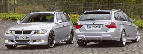 AC Schnitzer BMW 3 kombi – plastika pro krásku