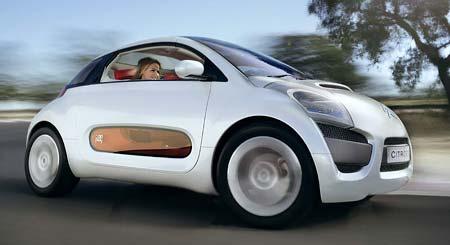 Citroen C-AirPlay – koncept pro Boloňu
