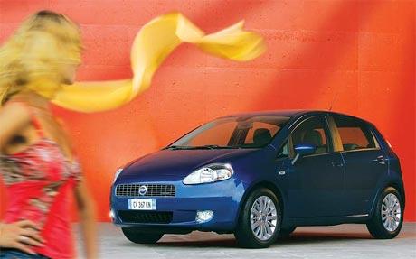 Letn� akce na Fiat Punto Grande